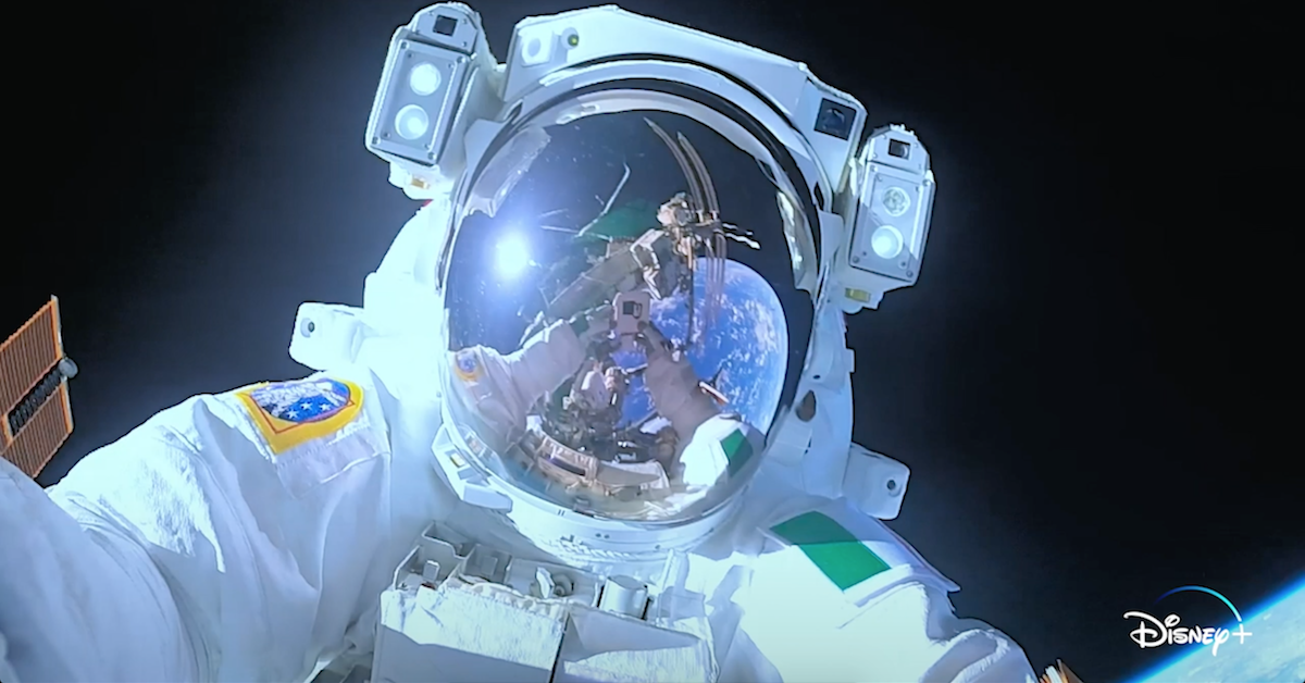 'Among the Stars' Astronauts Forced to Abort Mission in Sneak Peek From Disney+ Series